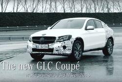 Teaser du nouveau Mercedes GLC Coupé