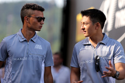 Pascal Wehrlein, Manor Racing et Esteban Ocon, Manor Racing
