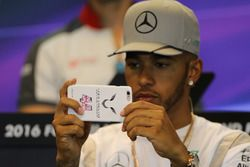 Lewis Hamilton, Mercedes AMG F1 Team at FIA Press Conference