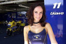 Hermosa chica de Pramac Racing