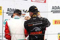 Podium: Joseph Mawson, Van Amersfoort Racing