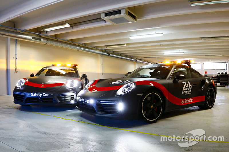 Porsche 911 Turbo, Safety Car para FIA WEC y 24h de Le Mans