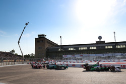 Daniel Abt, Audi Sport ABT Schaeffler, Oliver Turvey, NIO Formula E Team, Jérôme d'Ambrosio, Dragon Racing