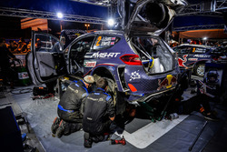 M-Sport mechanics at work