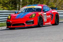 #138 Policaro Motorsport / SportsCarBoutique Porsche Cayman GT4 CS-MR: Andrew Danyliw