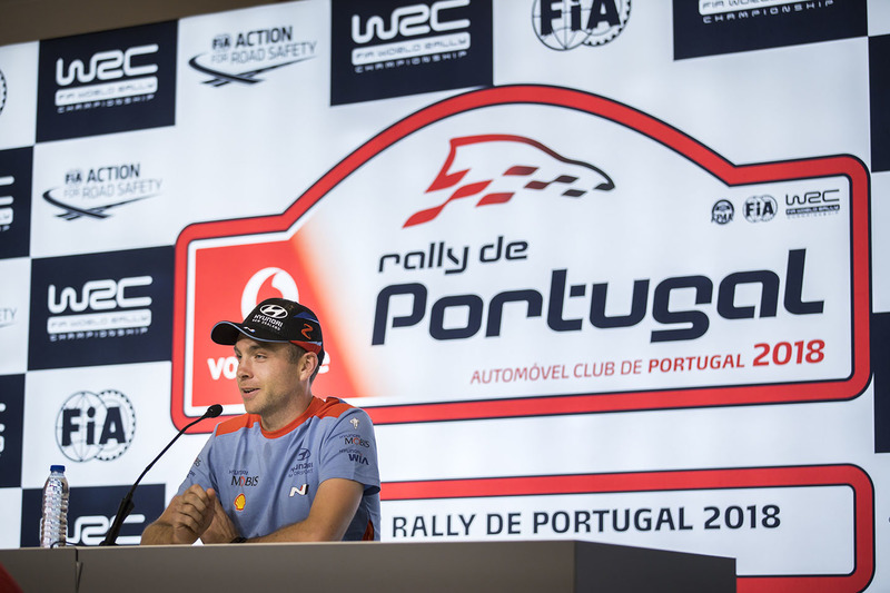 Conferenza stampa: Hayden Paddon, Hyundai Motorsport