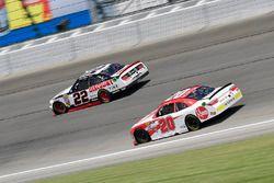 Paul Menard, Team Penske, Ford Mustang Discount Tire, Christopher Bell, Joe Gibbs Racing, Toyota Camry Rheem
