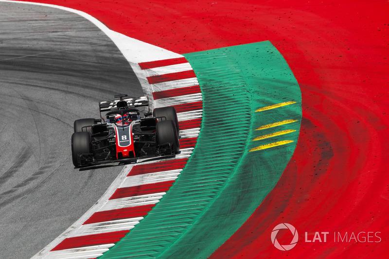 GP d'Autriche 2018 (Haas F1) : 4e