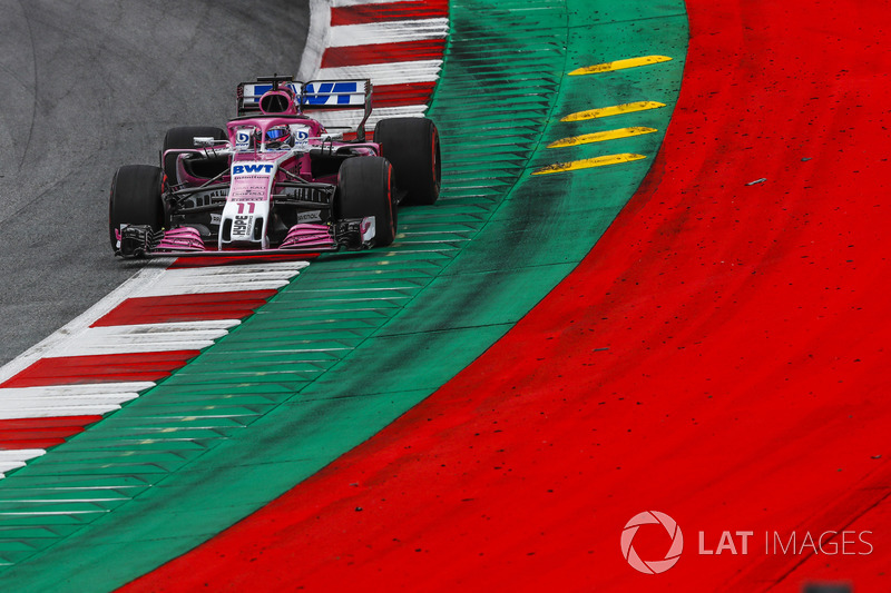 15. Sergio Perez, Force India VJM11