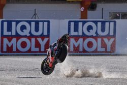 Caída de Scott Redding, Pramac Racing