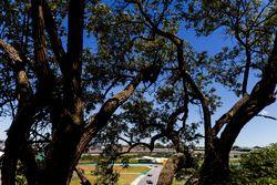 Sebastian Vettel, Ferrari SF70H, Brendon Hartley, Scuderia Toro Rosso STR12