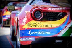 #51 AF Corse Ferrari 488 GTE : vue détaillée de l'arrière