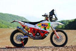 Moto de Laia Sanz, KH-7 Rally Team