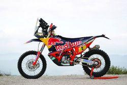 Bike of Matthias Walkner, Red Bull KTM Factory Team