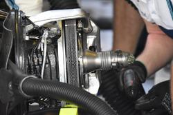Williams FW40 brake disc detail