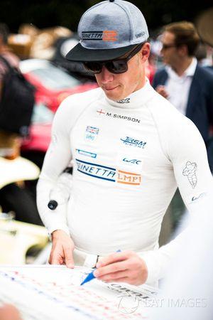 Майкл Симпсон, CEFC TRSM Racing