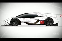 Машина по регламенту LMP1 2020 года