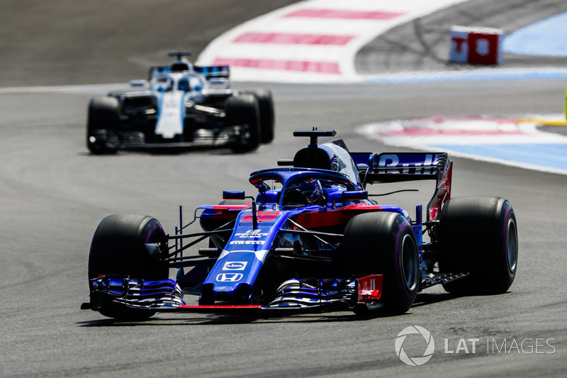 Brendon Hartley, Toro Rosso STR13, Lance Stroll, Williams FW41