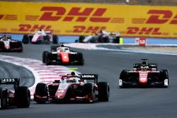 Nyck De Vries, PREMA Racing. Louis Deletraz, Charouz Racing System