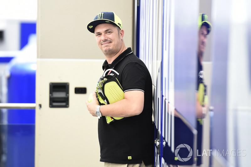"""Alessio Salucci, """"Uccio"""", asistente de Valentino Rossi, Yamaha Factory Racing"""