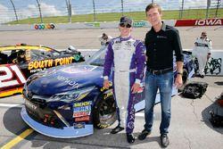 Brandon Jones, Joe Gibbs Racing, Toyota Camry Toyota XYO Networks and guest