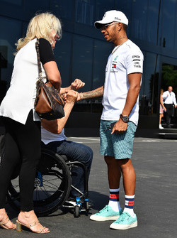 Lewis Hamilton, Mercedes-AMG F1 and fans