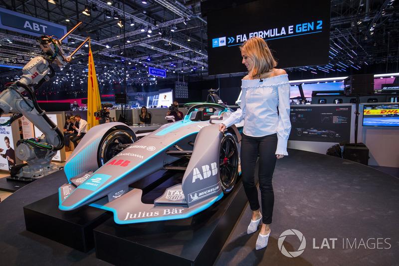 Presentación Fórmula E Gen2