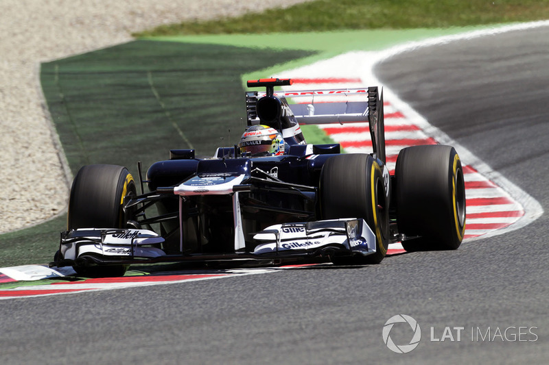 2012: Пастор Мальдонадо, Williams-Renault FW34