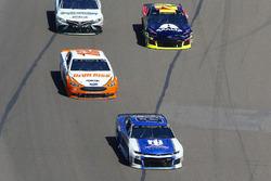 Alex Bowman, Hendrick Motorsports, Chevrolet Camaro Nationwide e Ryan Blaney, Team Penske, Ford Fusion Devilbiss