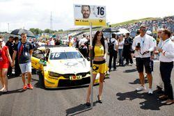 Chica de la parrilla para Timo Glock, BMW Team RMG