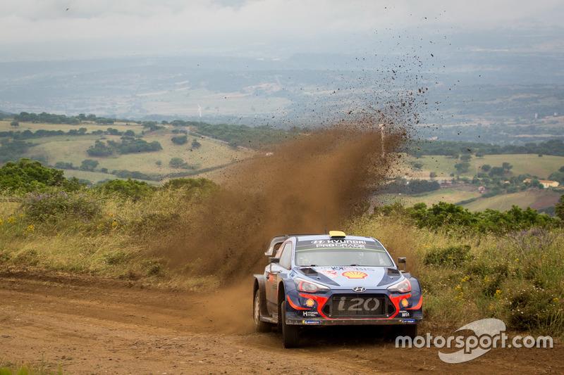 Андреас Миккельсен и Андерс Егер, Hyundai i20 Coupe WRC