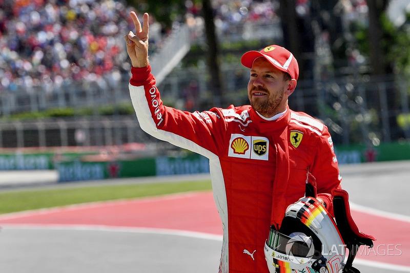 7. GP Kanada - Pole: Sebastian Vettel