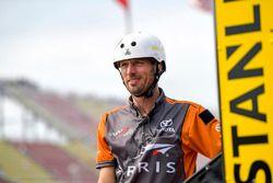 Daniel Suarez, Joe Gibbs Racing, Toyota Camry ARRIS