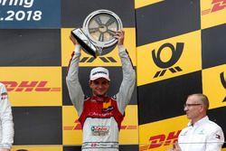 Podio: tercer lugar Nico Müller, Audi Sport Team Abt Sportsline, Audi RS 5 DTM