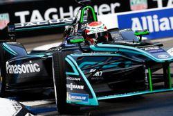 Bruno Correia, Safety Car Driver, in the Formula E track car