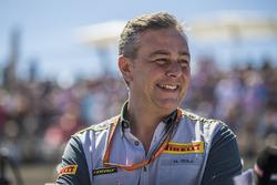 Mario Isola, Director deportivo de Pirelli