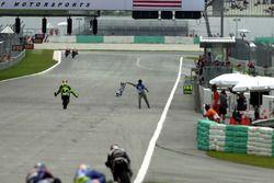 Valentino Rossi, vainqueur de la course