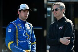 Chase Briscoe, Brad Keselowski Racing Ford and Jeremy Thompson