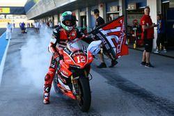 Campeón Michael Ruben Rinaldi, Ducati