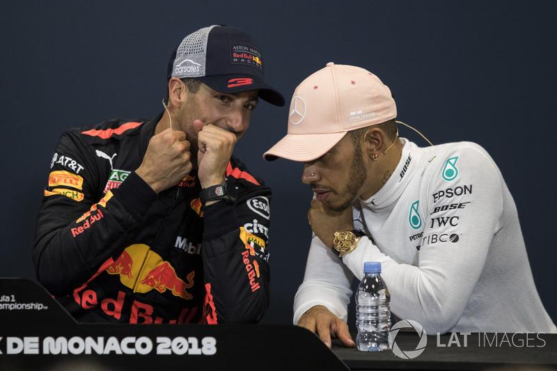 Даніель Ріккардо, Red Bull Racing, Льюіс Хемілтон, Mercedes