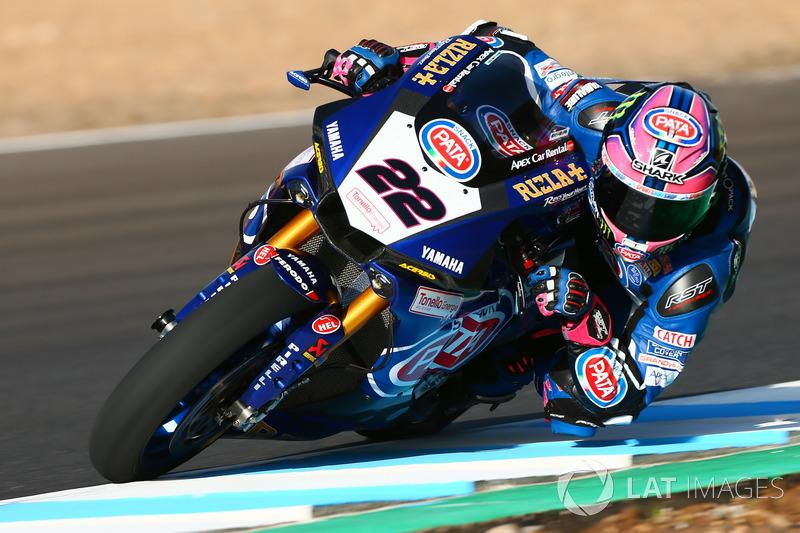 Alex Alex Lowes, Pata Yamaha