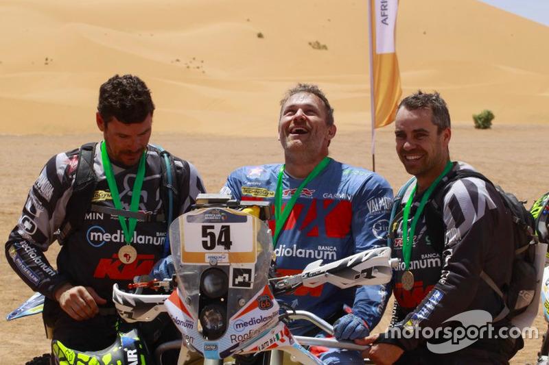 #144, #145, #146 Pablo Toral, Víctor Rivera y Julián Villarrubia, Offroad Adventure