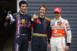 Polesitter Sebastian Vettel, Toro Rosso, Mark Webber, Red Bull Racing, Heikki Kovalainen, McLaren