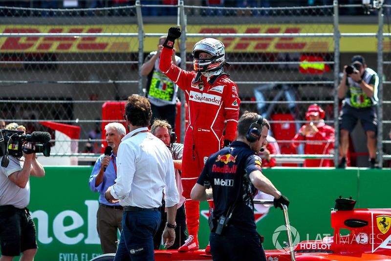 Pole, Sebastian Vettel, Ferrari SF70H
