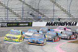 Matt Crafton, ThorSport Racing Toyota, Chase Briscoe, Brad Keselowski Racing Ford