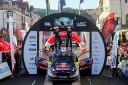 Les Champions du monde Sébastien Ogier, Julien Ingrassia, Ford Fiesta WRC, M-Sport