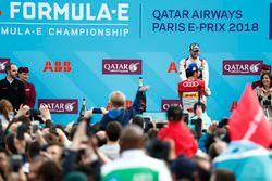 Lucas di Grassi, Audi Sport ABT Schaeffler, finishes in 2nd with Sam Bird, DS Virgin Racing, in 3rd