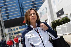 Claire Williams, team principal Williams