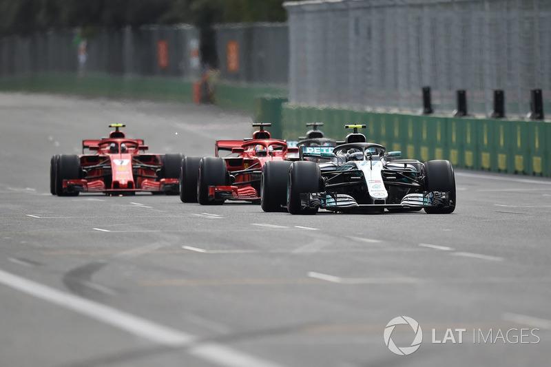 GP de Azerbaiyán: primer error de Vettel