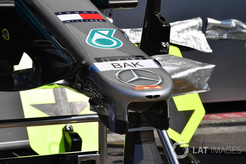 Mercedes-AMG F1 W09 EQ Power nose detail